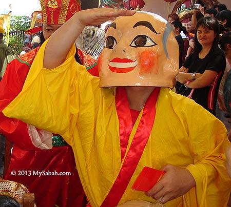 Big head Buddha