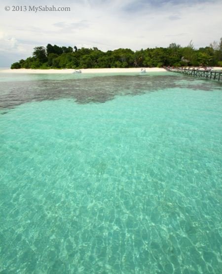 sea of Lankayan Island