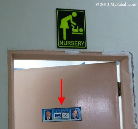 nursery door