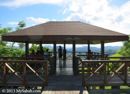 last shelter of Skull Hill (Bukit Tengkorak)