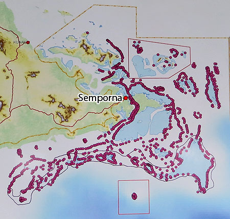 Dive sites of Semporna