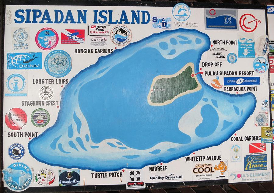 Funny dive sites in semporna - Sipadan dive sites ...