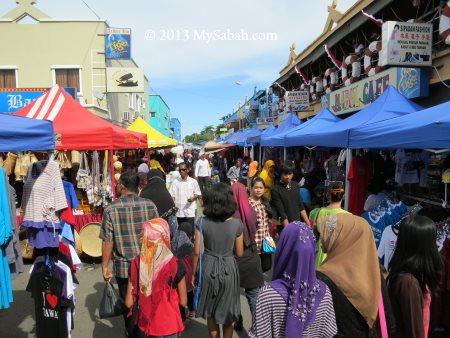 Semporna market
