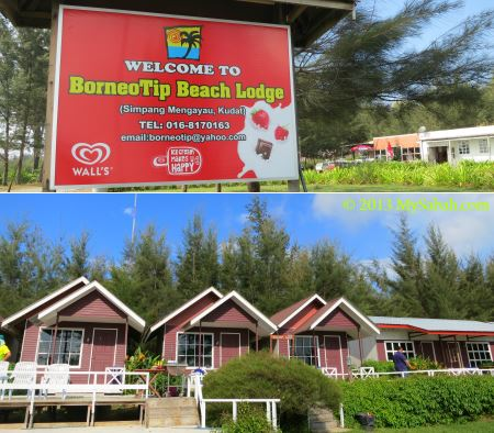 BorneoTip Beach Lodge