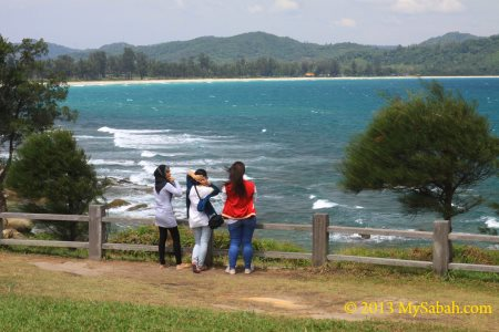 sea view of Tip of Borneo