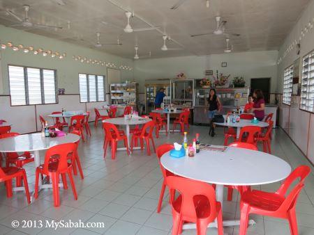 interior of Kedai Makan Gembira
