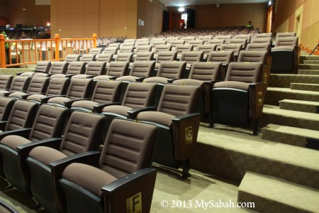 seats of auditorium