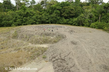 Lipad Mud Volcano