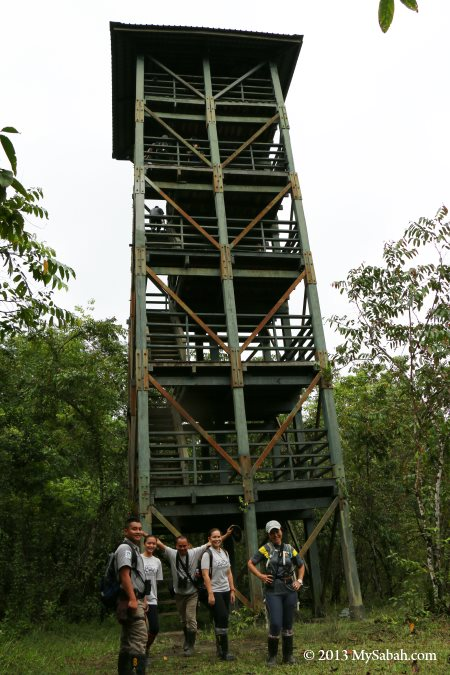 Observatory Tower at Lipad Mud Volcano