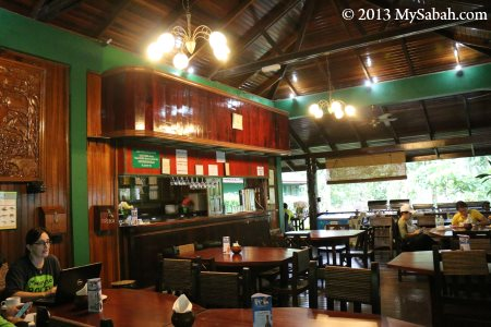 Sunbird Cafe of Tabin Wildlife Resort