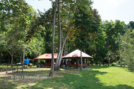 camping site of Tumunong Hallu