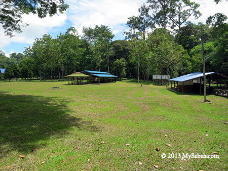 camping ground of Taliwas Forestry & Recreation Area