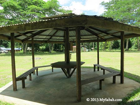 shelter in Taliwas Forestry & Recreation Area