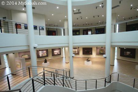 inside Sabah Art Gallery