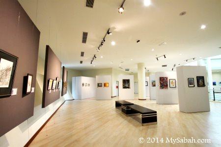public gallery of Sabah Art Gallery