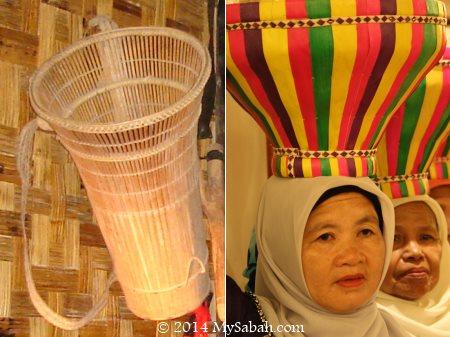 Sabah traditional baskets