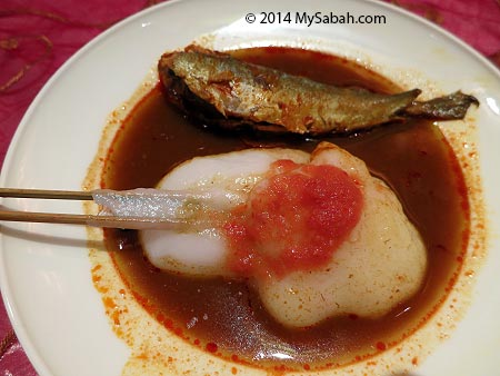 ambuyat, the sago paste