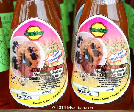 Kelulut stingless bee honey