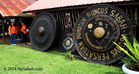 gong in Kg. Sumangkap