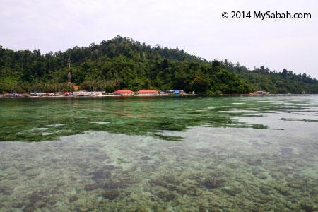 Kampung Sepanggar Island