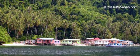 Sepanggar Island Village