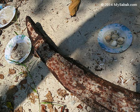 offering for Mengalum Island