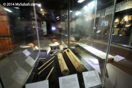 musical instruments of Sabah