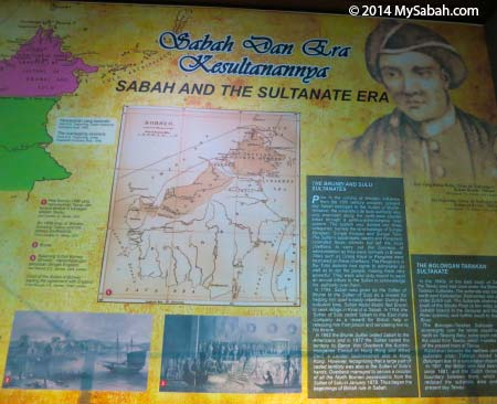 history about Sulu Sultanate era in Sabah