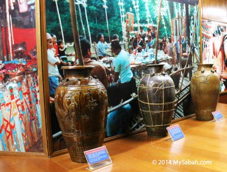 bride price jars of Sabah