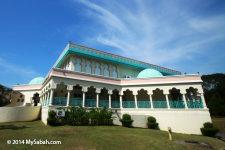 building of Sabah Islamic Civilisation Museum