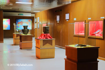 ground floor of Sabah Islamic Civilisation Museum
