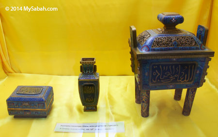 Chinese incense burner of late 19th century