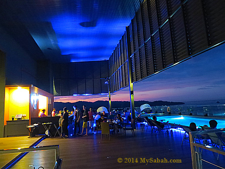 Sky Blu Bar of Grandis Hotels & Resorts