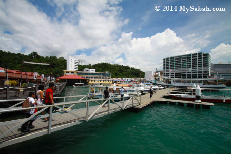 Jesselton Point ferry terminal