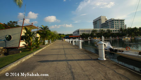 Sutera Harbour and Pacific Sutera Hotel