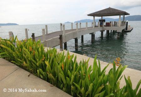jetty of STAR Marina