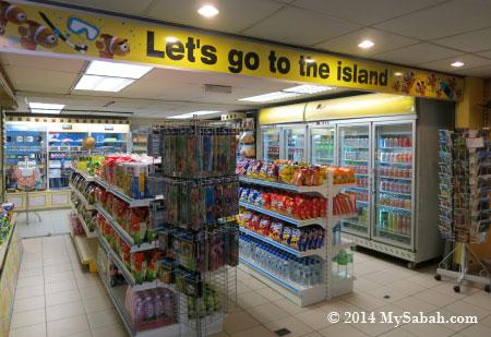 store in Jesselton Point