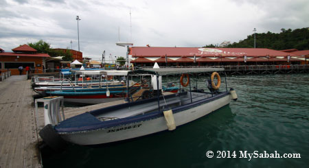 jetty of Jesselton Point