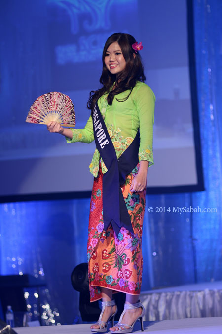 Miss Scuba Singapore