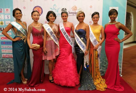past winners of Miss Scuba International 2014