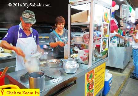 Kuching noodles
