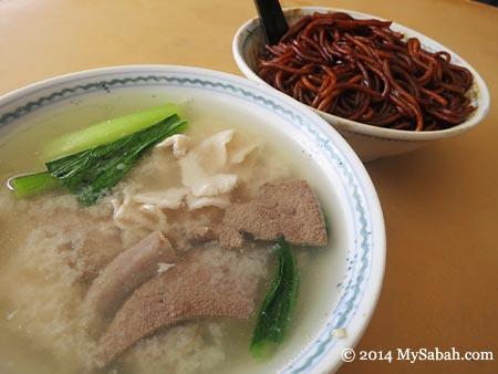 Sang Nyuk Mee (Sabah Pork Noodle)