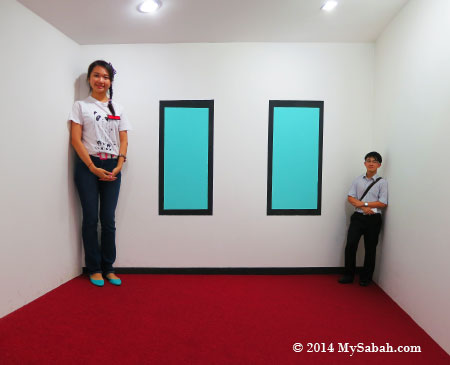 shrinking room of Grand Illusions