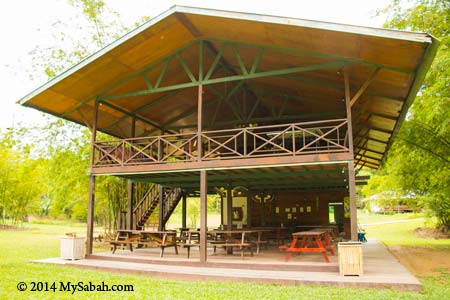 activity hall of Zip Borneo