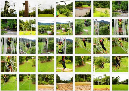 more photos of Zip Borneo activities