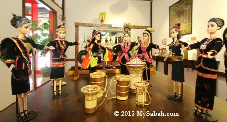 high priest dolls of Kadazan Dusun