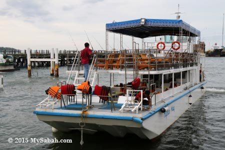 our boat Hydian Way