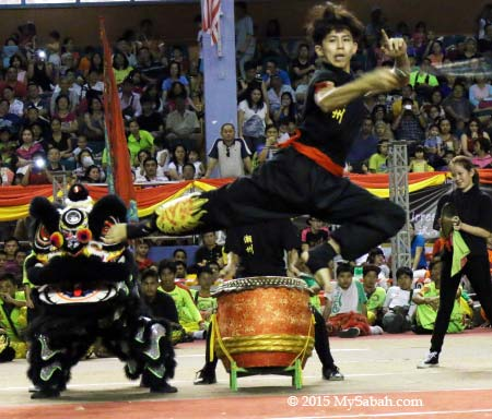 Nunchakus performance