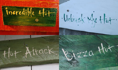 names of different chalets