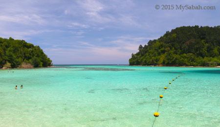 Sapi Island and Gaya Island